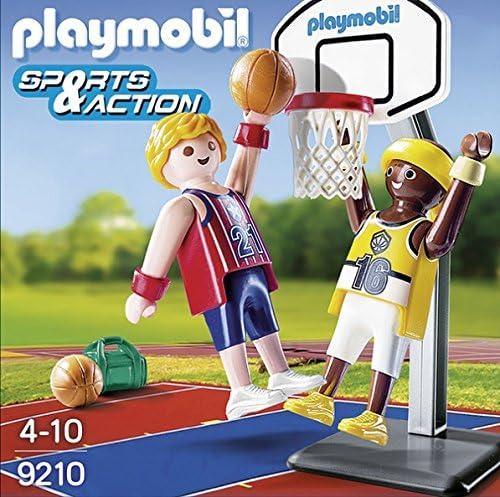 PLAYMOBIL Huevos-9210 Jugadores Baloncesto, Multicolor (9210): Amazon.es: Juguetes y juegos