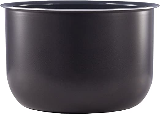 Olla de cocción de cerámica (7,5 L) 3 quart gris: Amazon.es: Hogar