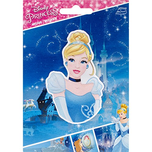 Wrights 193 1140 Disney Princess Iron-On Applique, - Princess Iron Disney