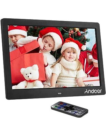 Marcos digitales Andoer 10 Pulgadas HD TFT-LED 1024 x 600 Marcos Digital de Fotos