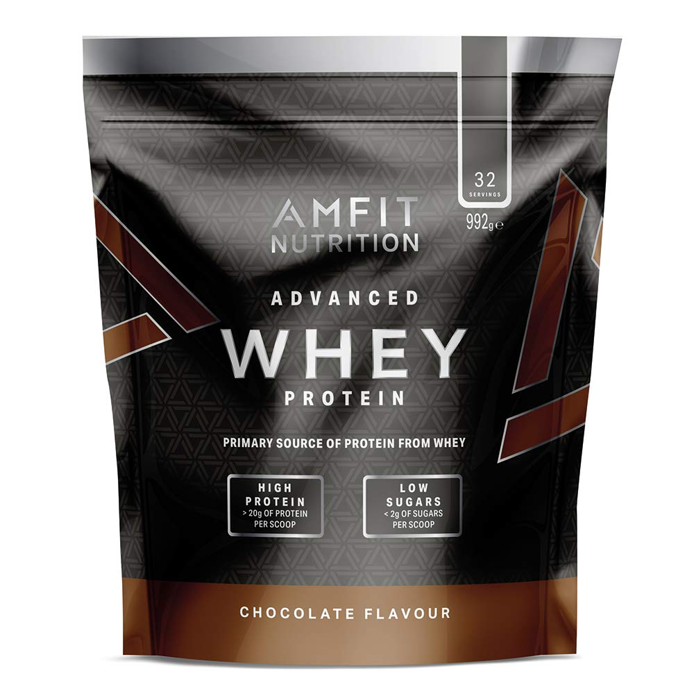 Amfit Nutrition Advanced 100% Whey Protein Powder