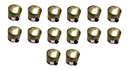 HomeDecorax Traders Antique End Caps (Only Finials, No Supports are Included) Pack of (14)