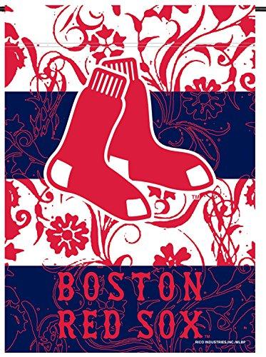 Boston Red Sox Rico Premium 2-sided GARDEN Flag Outdoor House Banner Baseball ()