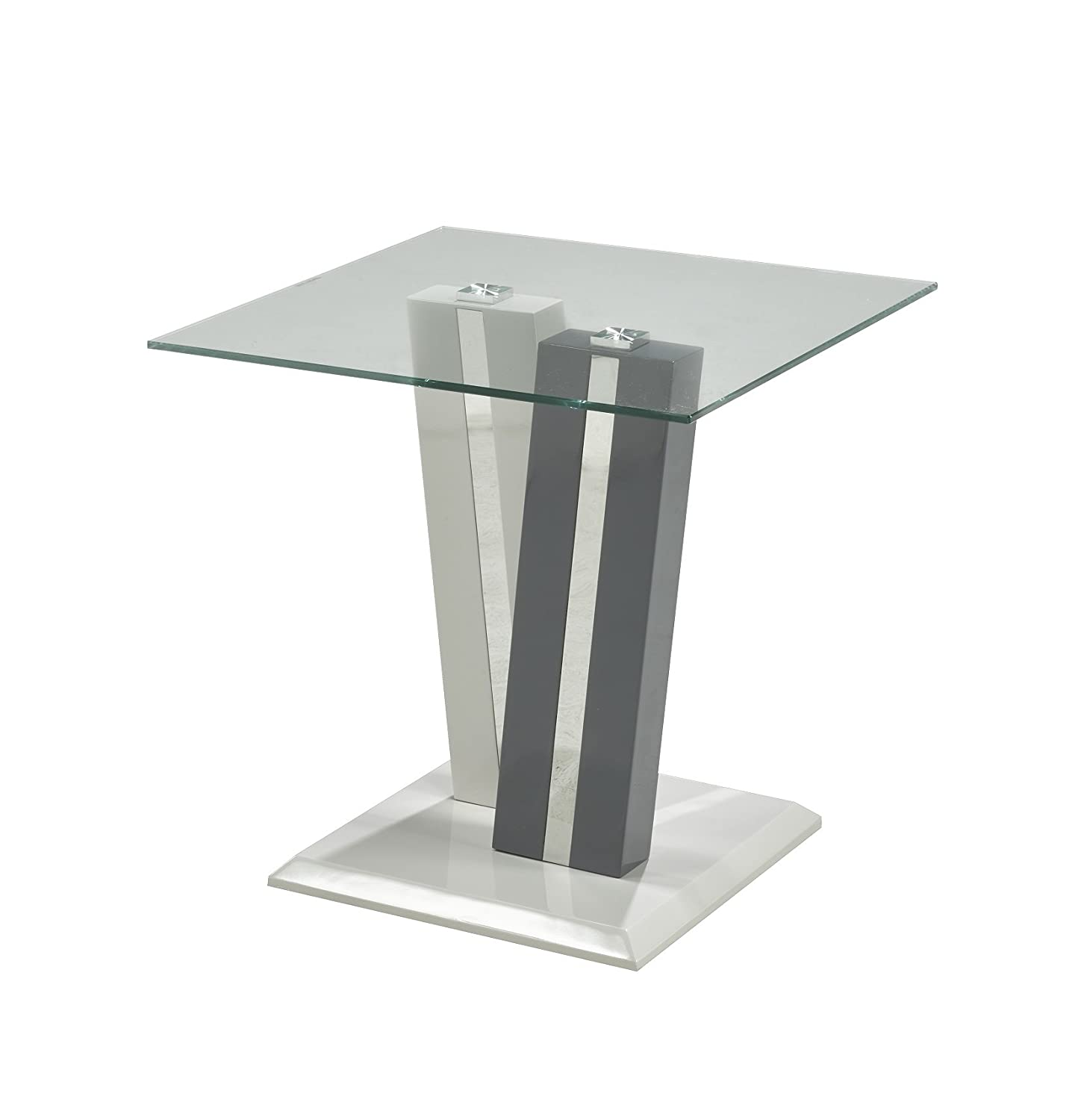 Brassex G-675 End Table - Gray