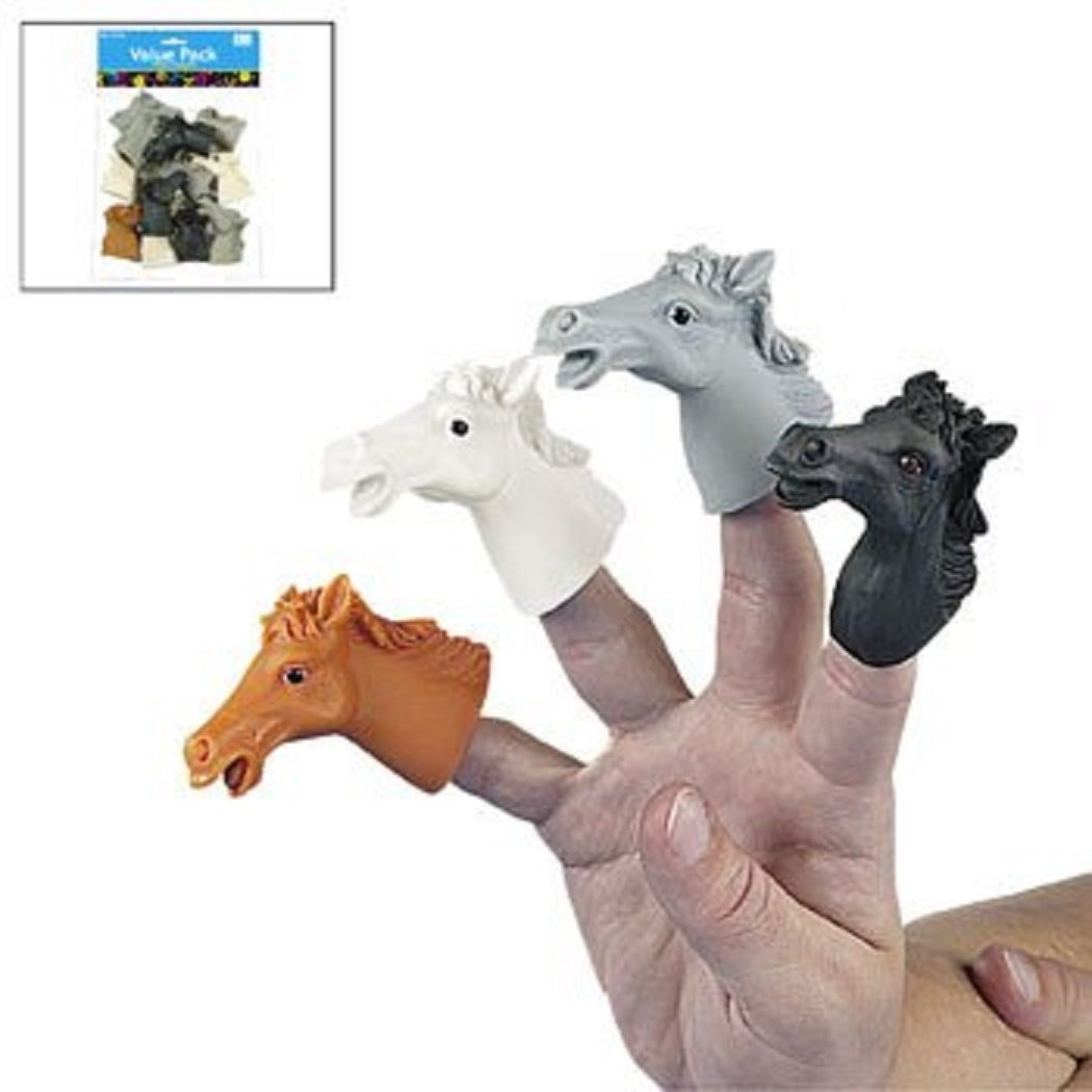 Horse Finger Puppets (12 Pack) Vacation Bible School & Toys & Games Fun Express