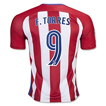 CBUJSS-Sports 2016 2017 Atletico Madrid 9 Fernando Torres Home Football  Soccer Jersey In Red  Amazon.co.uk  Sports   Outdoors 538c86243ce64