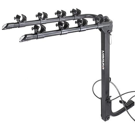 Venzo 4 Bicycle Bike Rack 1.25\u0026quot; and 2\u0026quot; Hitch Mount Car Carrier Amazon.com: 1.25\