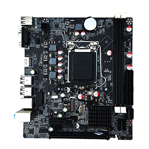 - Bomcomi H61 Desktop Computer Motherboard 1155-pin CPU Interface H61M Upgradeable USB 3.0 B75 Motherboard