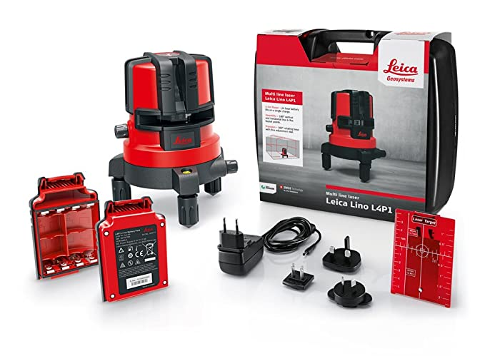 Best indoor laser level on the market: Leica Lino L4P1