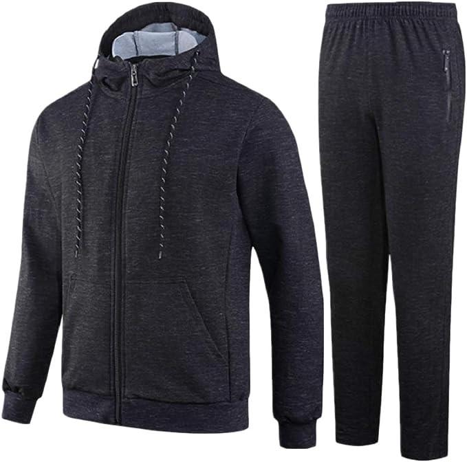 Andopa Zip Sudadera con capucha chaqueta de la capa básica del ...