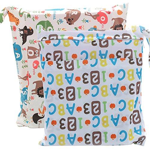 waterproof wet diaper bag - 4