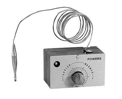 Siemens 188 – 0030 Unidad de termostato de Gas, calor y frío, Gris