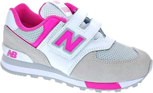 New Balance YV574 - Zapatillas Niña Gris Talla 29: Amazon.es: Zapatos y complementos