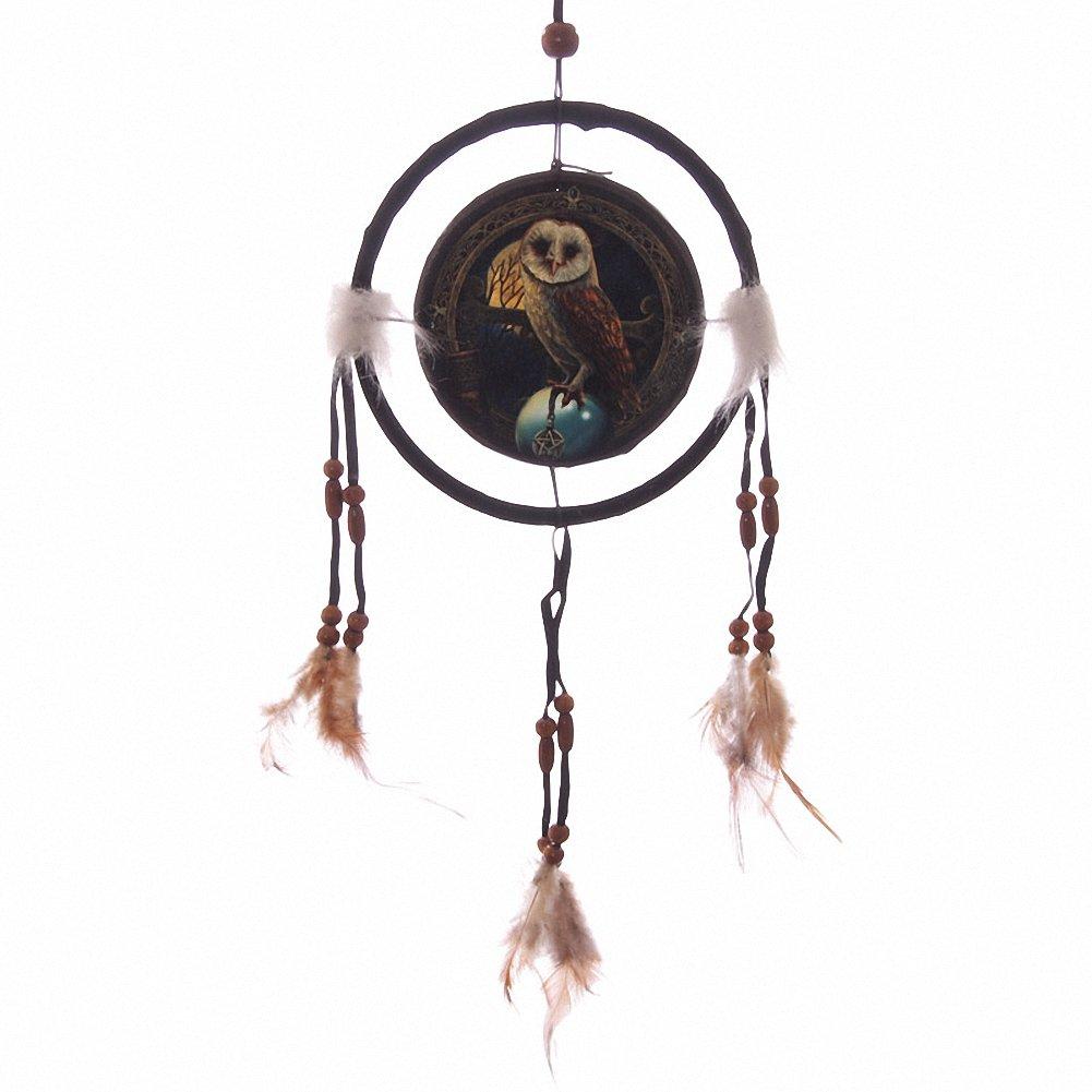 Lisa Parker Barn Owl 16cm Dreamcatcher