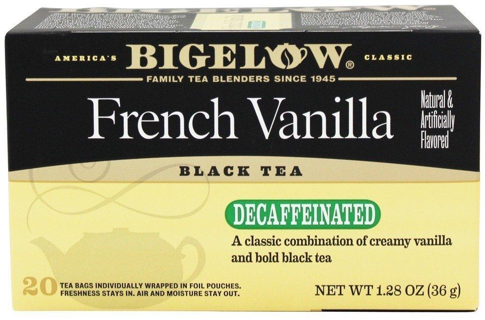 Bigelow Decaf French Vanilla Tea Bags, 20 ct