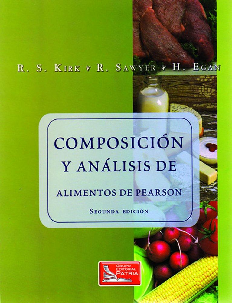 composicion y analisis de alimentos: Amazon.es: R.S./Sawyer,R./Egan ...