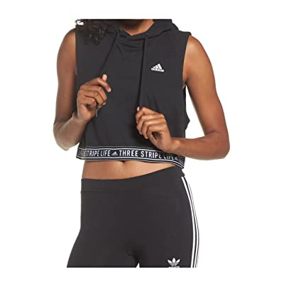 adidas Womens Fighter Crop Hoody