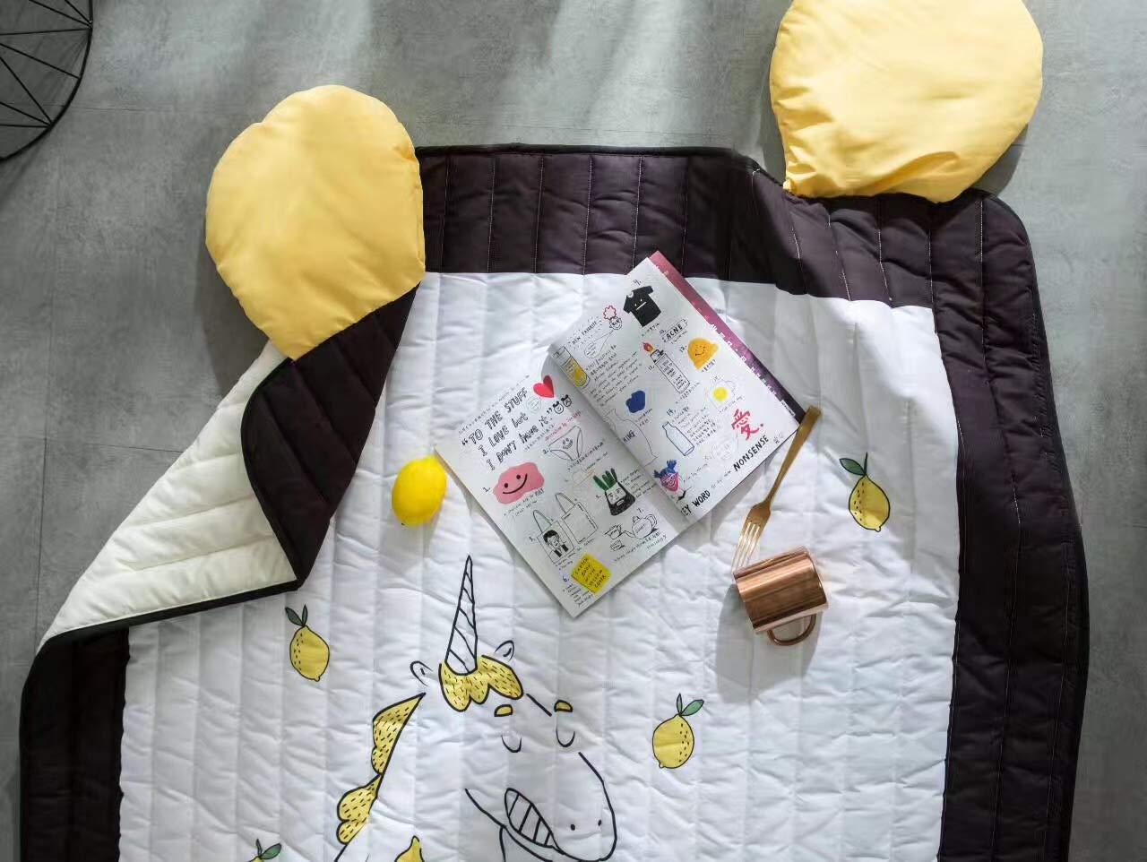 Tappeti Per Bambini Lavabili : Baobe stuoia del gioco del bambino del cotone tappeto bambini non