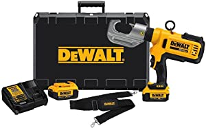 DEWALT DCE300M2R 20V MAX Li-Ion Cordless Died Electrical Cable Crimping Tool Kit (Renewed)