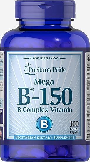 Amazon.com: Puritan 's Pride Vitamina b-150 complex-100 ...