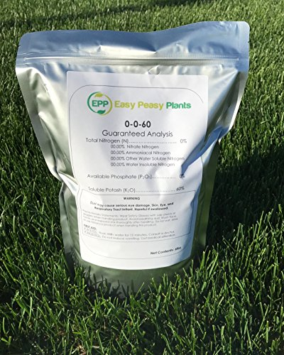 All Natural Muriate Of Potash  Easy Peasy 0 0 60 Potassium  5Lb Bag