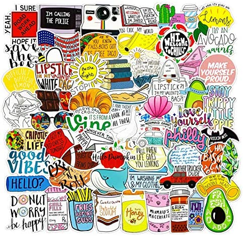 New Vine Meme 100pcs Fresh Vine Meme Stickers for Water Bottles Cute,Waterproof,Aesthetic,Trendy Flash Sweet Sticker for Teens,Girls Perfect for Waterbottle,Laptop,Phone,Travel Extra Durable Vinyl