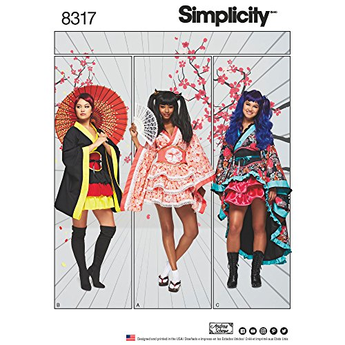 Simplicity Creative Patterns US8317H5 Sewing Pattern Crafts, H5 (6-8-10-12-14)