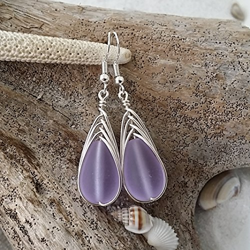 Handmade Changing earrings sterling Birthstone product image