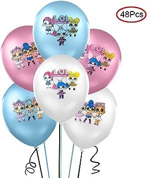Amazon.com: Lsang 48 globos LOL – 12 pulgadas globos de ...