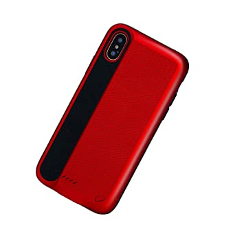 KALLOWLY Funda Bateria para iPhone X iPhone XS,Funda ...