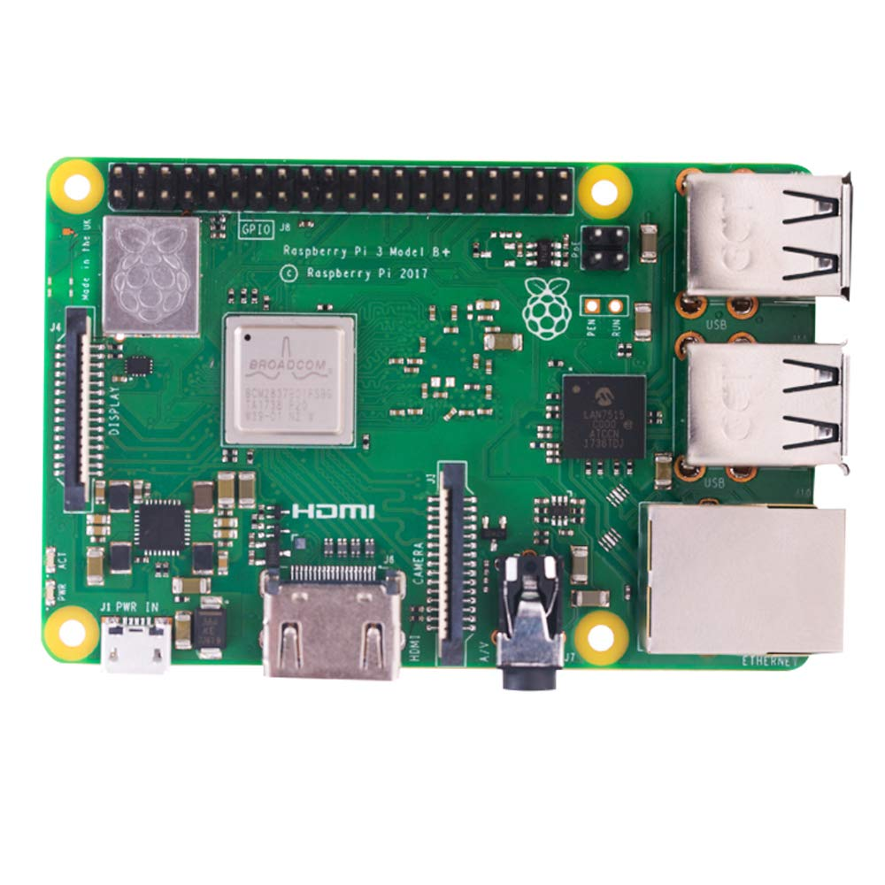 Amazon.com: LANDZO Raspberry Pi 3 B+ - Placa base: Computers ...