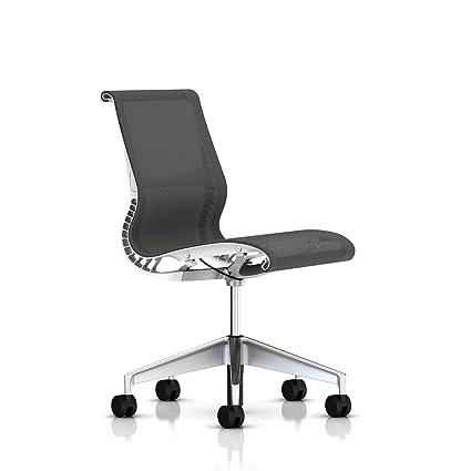 Sensational Amazon Com Herman Miller Setu Chair Armless Hard Floor Ocoug Best Dining Table And Chair Ideas Images Ocougorg