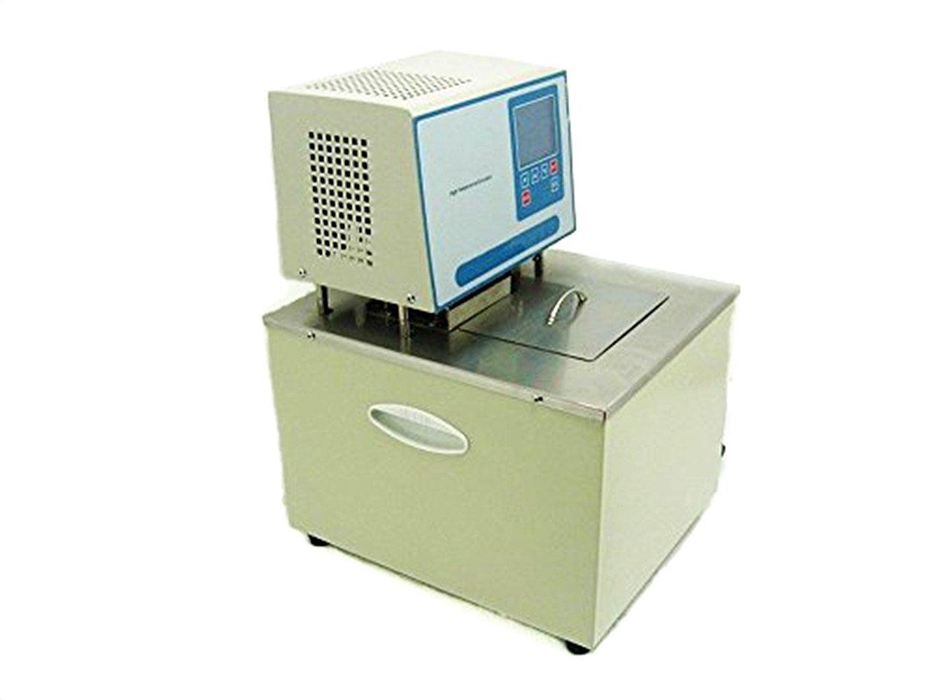 Envío rápido y el mejor servicio 110V Alta temperatura termostato temperatura baño de de de aceite 5L de la habitación  300 C 8l min para Reactor evaporador, 110V  compra limitada