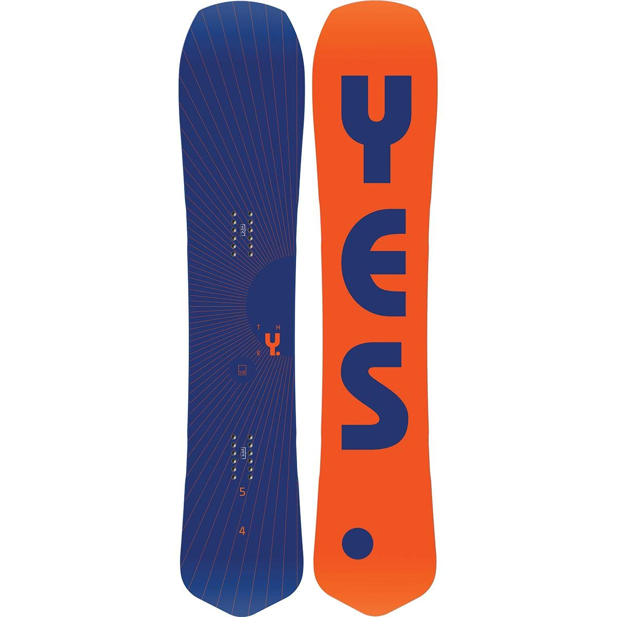 YES The Y Snowboard