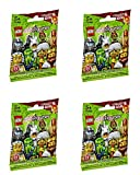 ninjago ninja db x - LEGO Minifigures Series 13 - Random Set of 4 Packs (71008)
