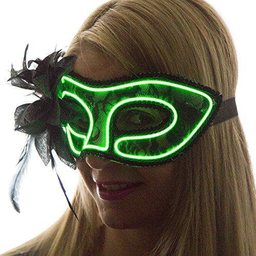 Neon  (Green Masquerade Masks)