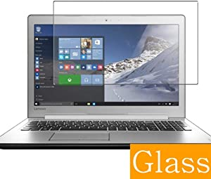 """Synvy Tempered Glass Screen Protector for Lenovo Ideapad 510 15.6"""" Visible Area Protective Screen Film Protectors 9H Anti-Scratch Bubble Free"""