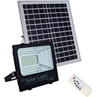 Refletor Energia Solar Placa 50w Sensor Bateria holofote Luminaria ultra led completo