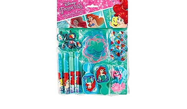 Little Mermaid Ariel DREAM BIG Favor Pack Birthday Party Supplies ~ 48pc Toys