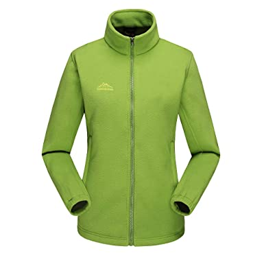 Damen Outdoorjacke Warm Soft Shell Jacke Fleecejacken Frauen Herbst
