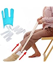 Sock Aid Easy On Easy Off Put on Your Sock Without Bending for Seniors, Disabled, Pregnant Women etc Flexible Deluxe Compression Socks Stockings