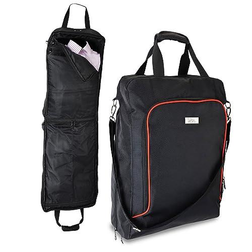 Cabin Max Porta Abiti da Viaggio - 55x40x20cm (Nero)  Amazon.it  Scarpe e  borse 1b4f6381e37