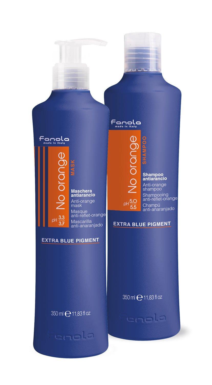 Fanola No Orange Shampoo & Mask, 350 ml by Fanola