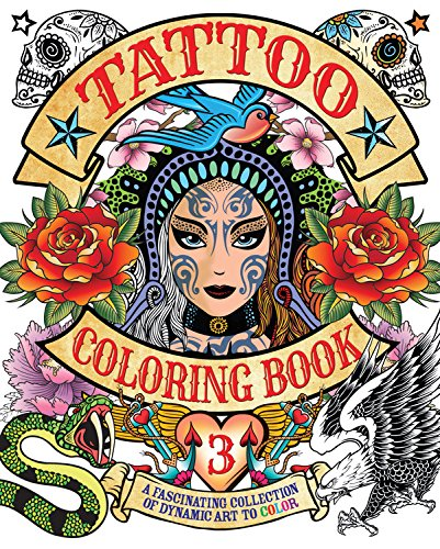- Tattoo Coloring Book 3: A Fascinating Collection Of Dynamic Art To Color  (Chartwell Coloring Books): Coster, Patience: 9780785833741: Amazon.com:  Books