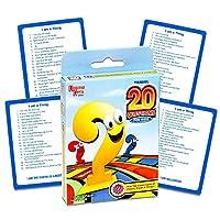 20 preguntas para el juego de cartas para niños