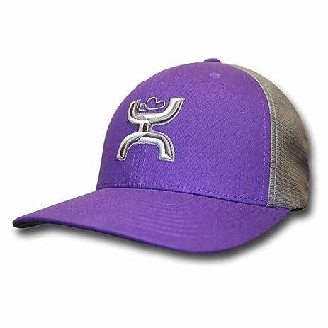 a6070ce023c ... amazon hooey will purple gray flexfit hat l xl purple 59d26 14174