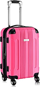 Goplus Expandable Carry On Luggage, 20-inch