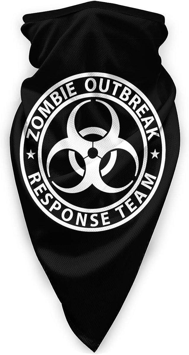 Zombie Outbreak Response Team Outdoor Face Mouth Mask Windproof Sports Mask Ski Mask Shield Scarf Bandana Men Woman