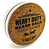 Honest Amish Heavy Duty Beard Balm -New Large 4 Oz Twist Tin