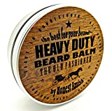Beauty : Honest Amish Heavy Duty Beard Balm -New Large 4 Oz Twist Tin